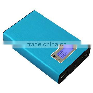 Hot selling 8800mah rechargeable power bank with led universal battery power bank