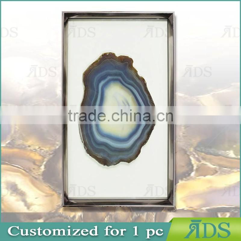 Framed Handmade Agate Shadow Boxes Wholesale