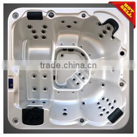 China Spa Supplier outdoor cheap plastic tub 5 seats A601 with 44 jets jackzi