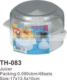 Juicer plastic juicer fruit squeezer