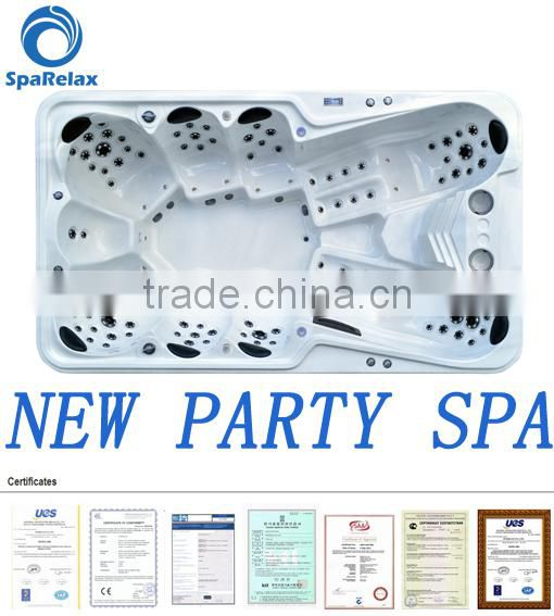 Luxury massage type A870 chinese hot tub, hot tubs uk for party spa