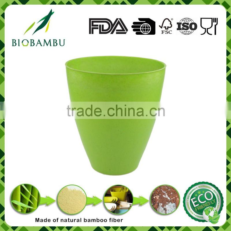 Pro-environment OEM available Portable fiber recyled garden pot