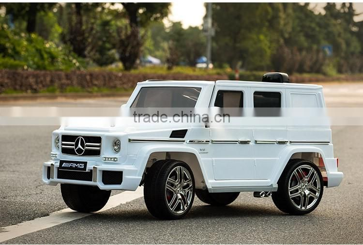 Licensed Mercedes Benz G63 Ride on Car 12v Double Door Open Battery Operated Baby