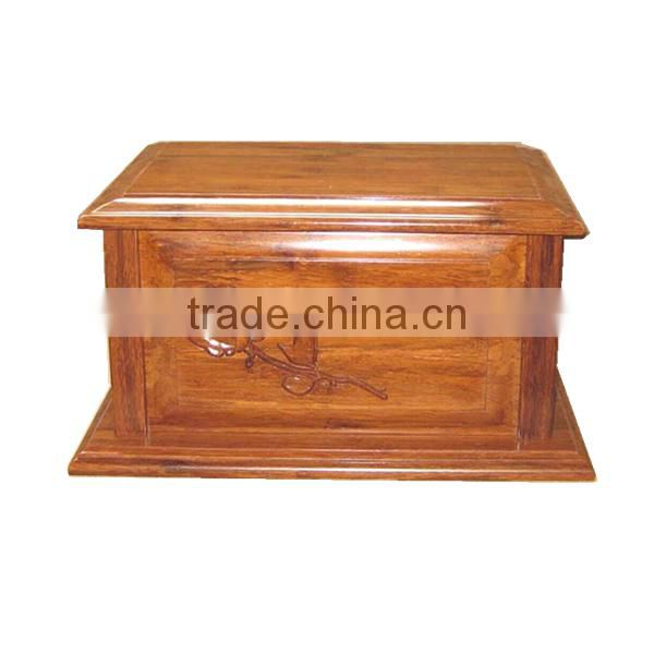 2015 New design carved flower urn for ashes