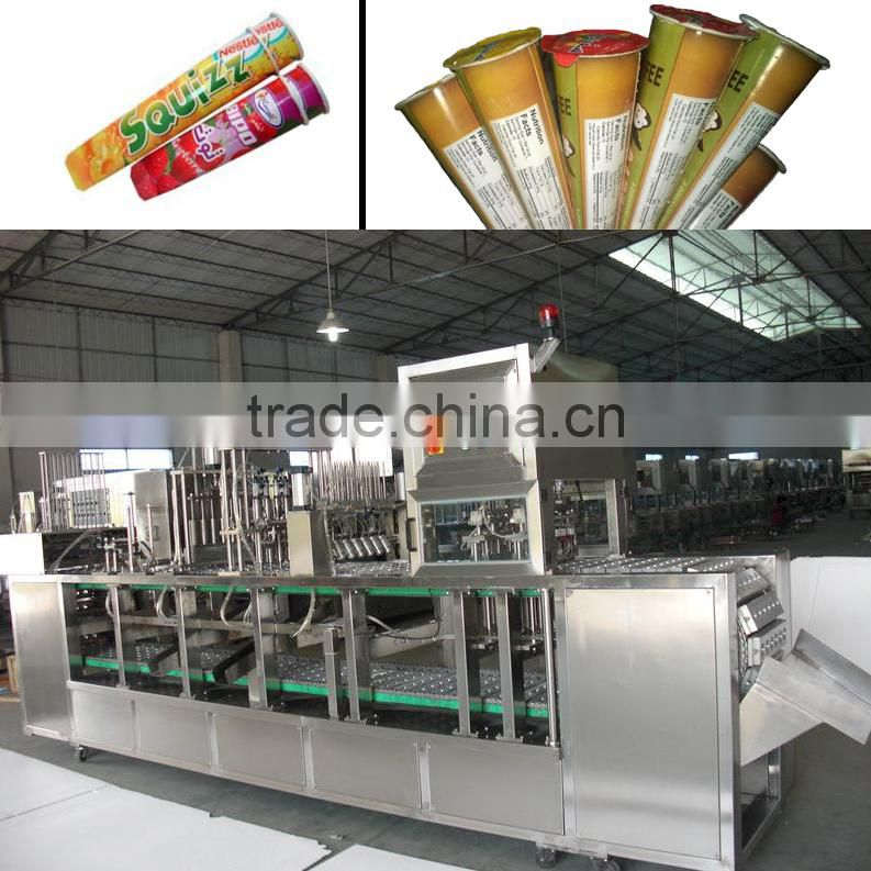 Automatic Ice Cream Filling Sealing Machine Calippo Packaging Machine