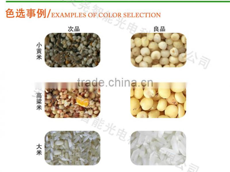 Automatic CCD grain/rice/wheat/bean/corn/seed/sesame seeds color sorter equipment
