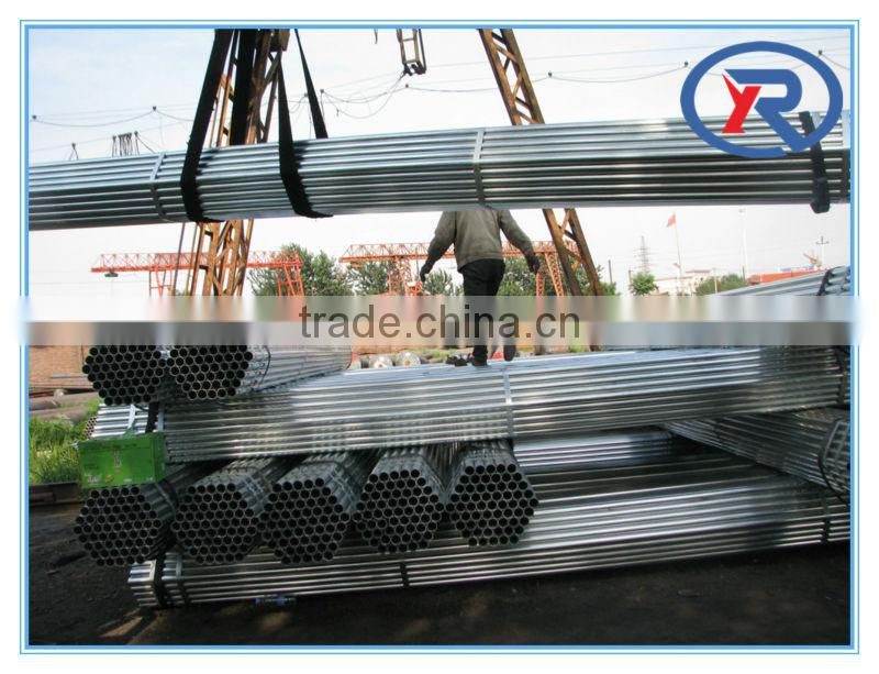 Hot Dipped Galvanized Scaffolding Pipe/Green House Pipe