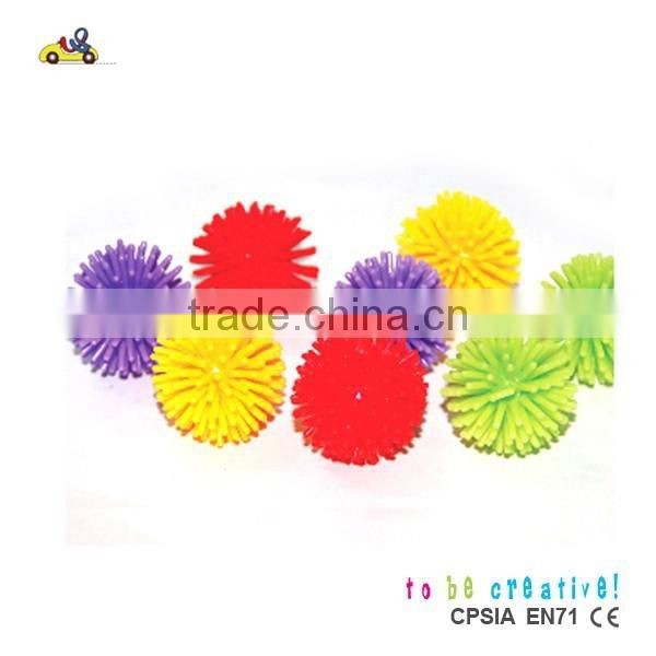 Wholesale price spiky ball children colorful spiky plastic ball kids toy ball promotional balls