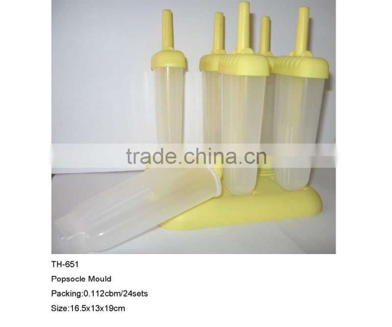 Custom and Promotional 6pcs Popsicle Mold TH-651