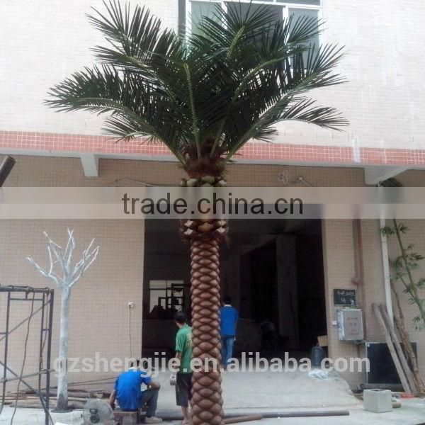 LXY081319 wedding decorative metal artificial outdoor date palm trees for sale