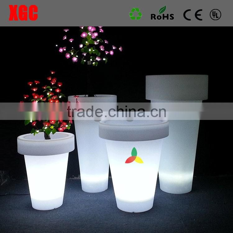 Outdoor colored christmas decor flower pot indoor flower pots GD111