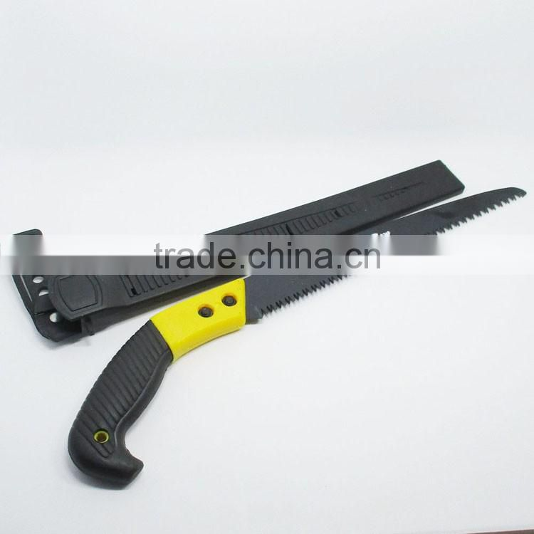 SK5 65Mn steel blade pruning saws hand tools saw metal cutting saw with plastic handle