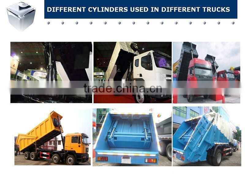 Tipper from Chinese factory--dump duty hidrolic hoist