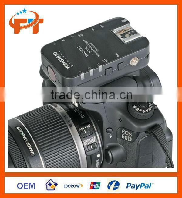 Yongnuo YN-622C Wireless TTL Flash Trigger for Canon 7D 5DII 5DIII 1DIV 1DIII 5D