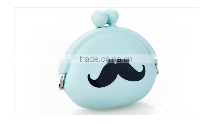 new arrival mini bag for key kids silicone coin purse /Hasp coin wallet