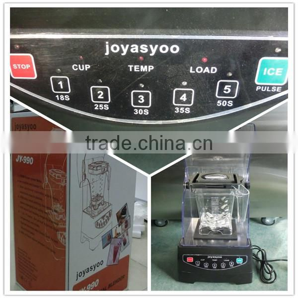Hot Sale commercial blender with sound cover, smoothie maker,professional smoothie maker(ZQW-JY990)