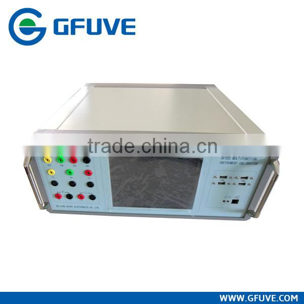 Multifunction three phase panel meter calibrator