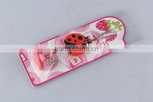 New design cartoon animal shape vertical name card holder