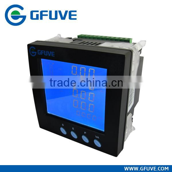 Modbus data logger three phase power meter