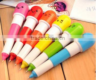 2016 best selling;Novelty pen; Manufacture wholesale; small; pill pens; adjustable; variety of styles for children's study