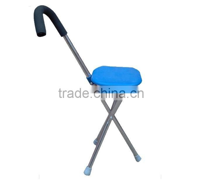Folding Seat Cane, walking stick with seat, walking stick with chair SZ20005