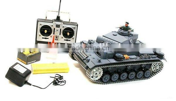 RC German Tank 1:16 remote control smoking tank 3848-1