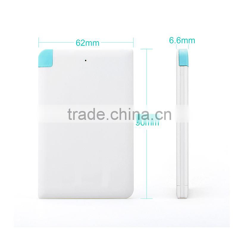 New Item Promotional Portable Charger Power Bank
