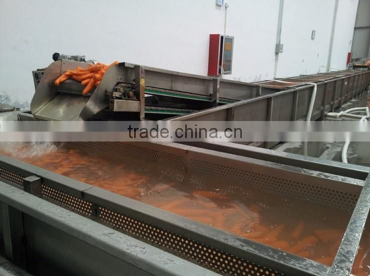 Carrot Washing Peeling Prodcution Line Processing Line
