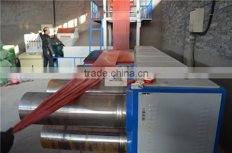 Polyethylene Tear Production Line Knitting Split Film Machine