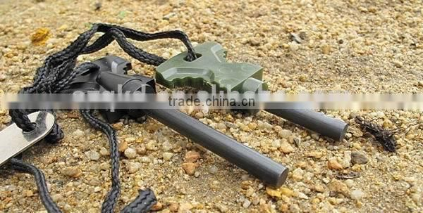 New Survival Tool Magnesium Flint Stone Fire Starter