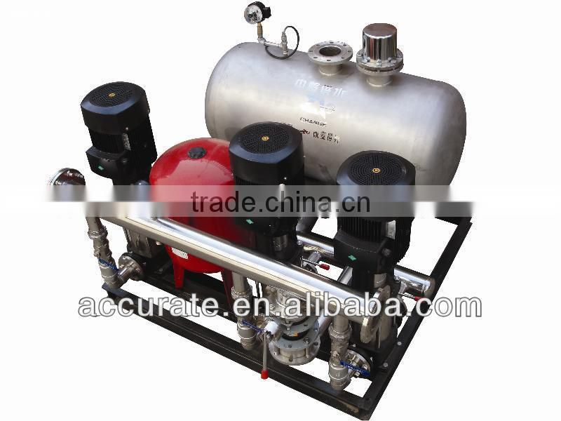 Non Negative Water Supply Equipment