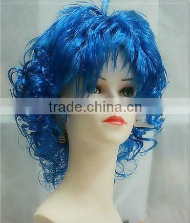 red short bob wigs carnival party wigs cheap fan wigs