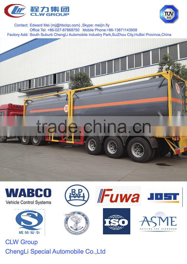 20ft chemical tank container,20 ft iso container for chemical