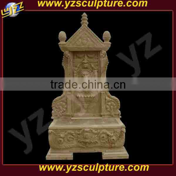 indoor antique marble water wall fountain with lion head