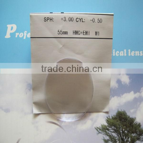 55, 60mm thin lens for eyeglasses