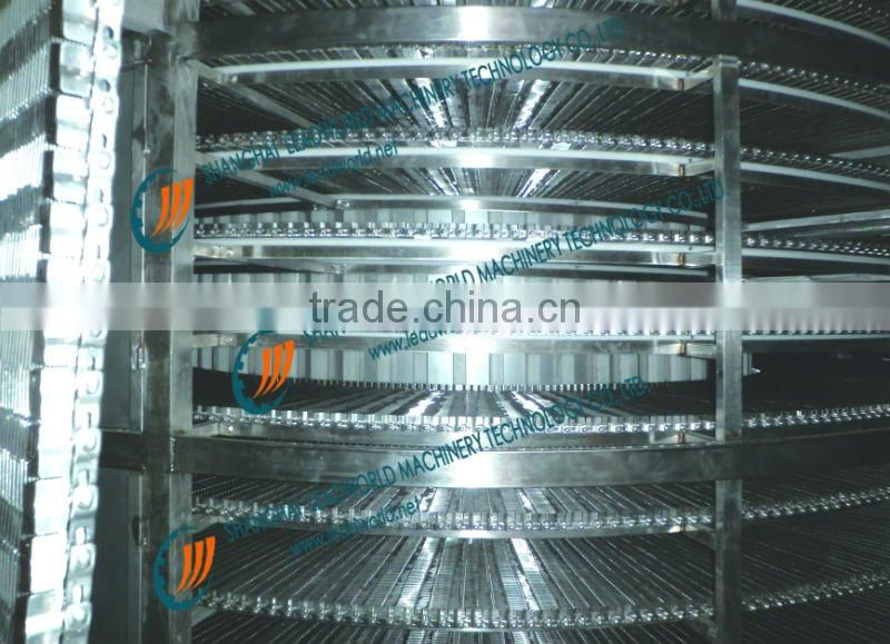 freezer spiral conveyor