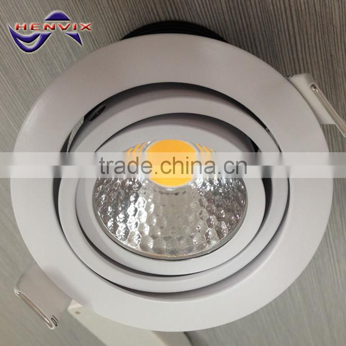 10W cut out 60-70mm led dimmable downlight, Cree led downlight triac