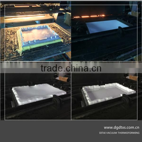 DITAI Produce Thermoforming ABS Paint Color Chip Display Tray