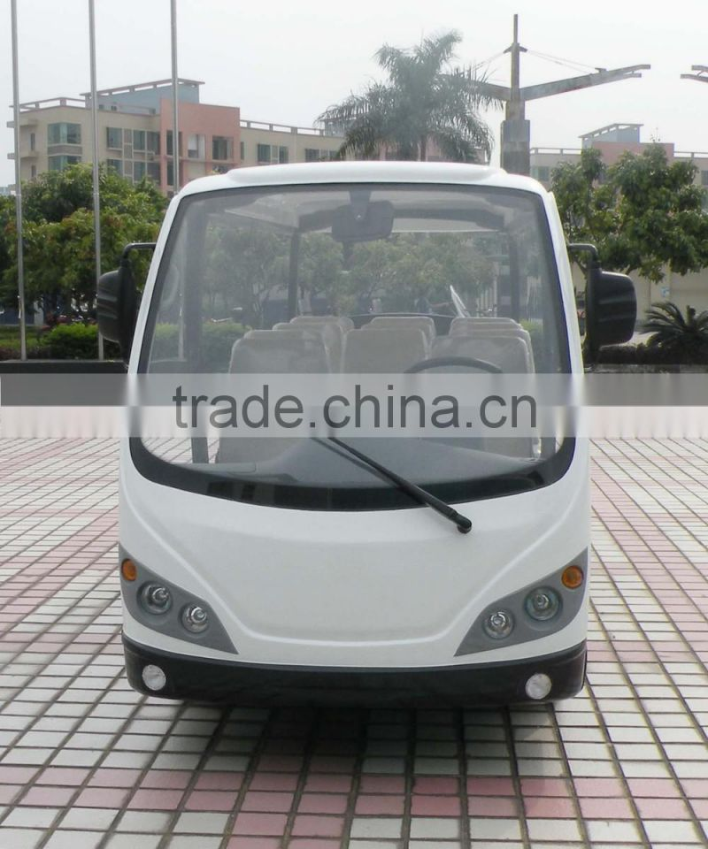 Good quality battery operated sightseeing mini bus electric utility vehicle