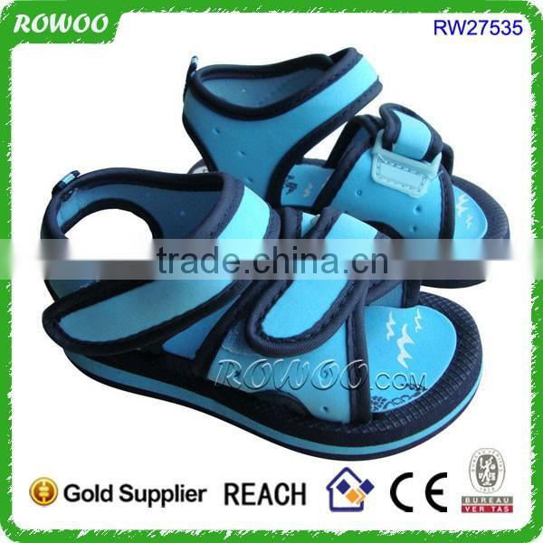 Good quality Summer children beach sandal with closed toe