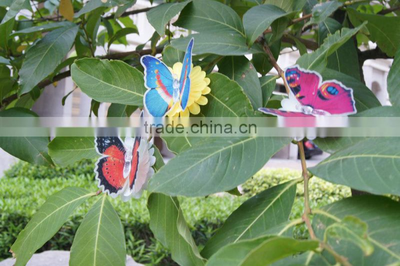 fiber optic butterfly Flashing Multi-Color Changing Fiber Optic LED Butterfly