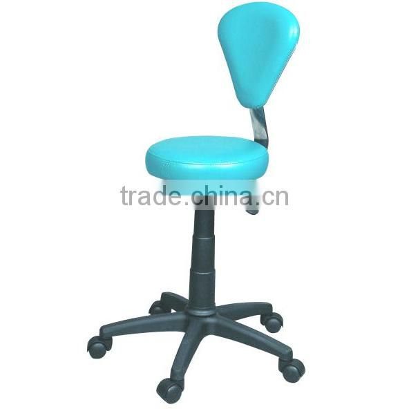 Potable movable Ottoman stool hydraulic chair with wheels used salon furniture F-9919