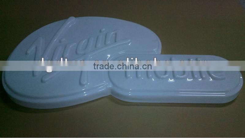 OEM design vacuum forming advertising signs