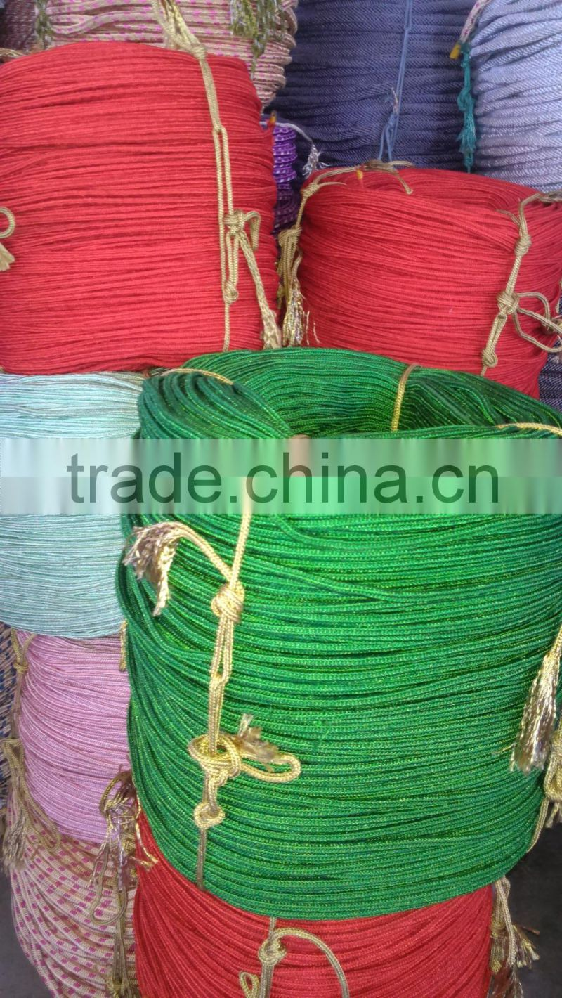 Polyester Galvanized Iron Core Armed Rope with high quality