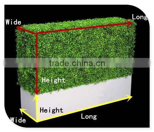 artificial plastic boxwood hedge fence multi-purpose hedge trimmer for outdoor