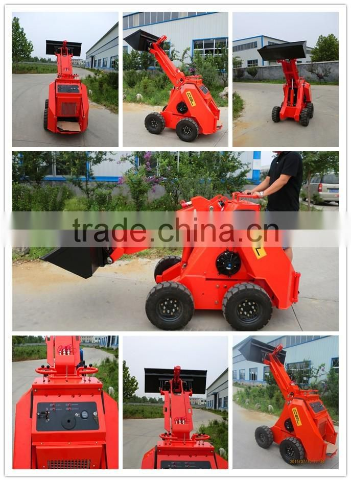 mini wheel loader skid steer loader with CE and EPA