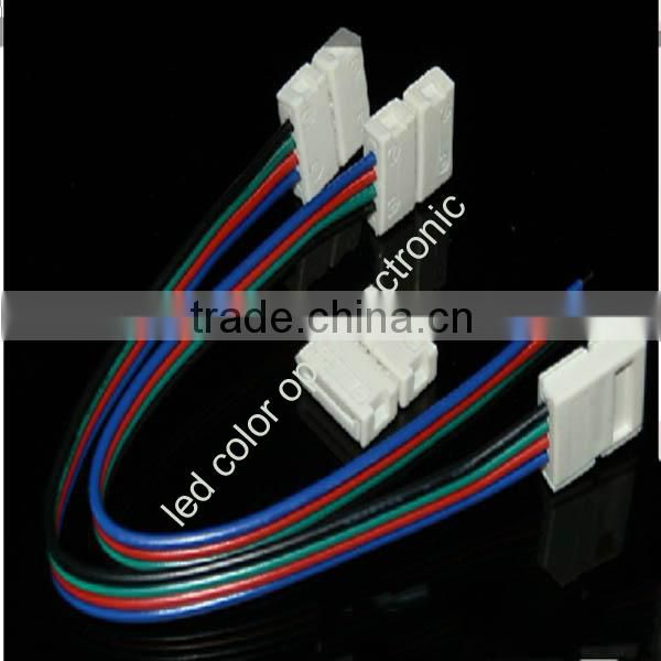 5050 rgb led strip connector