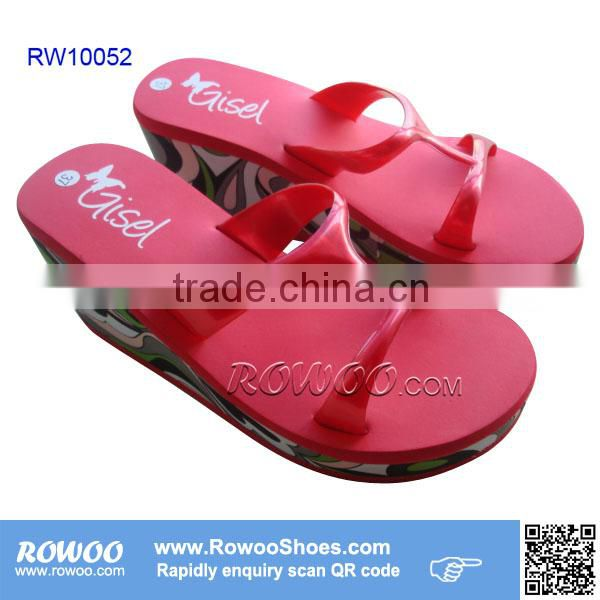 High Qulity Straw Mat Spa Flip Flop Slipper Wholesale