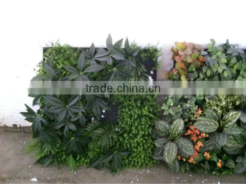 2015 high quality artificial plant wall/artificial creeper
