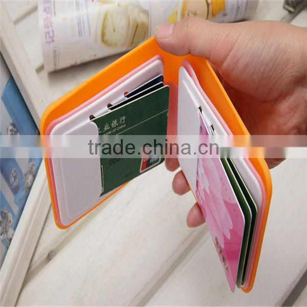 2014 Silicone Wallet Heart Shape Manufactor Wholesaler Silicone Coin Wallet Silicone Rubber Wallet